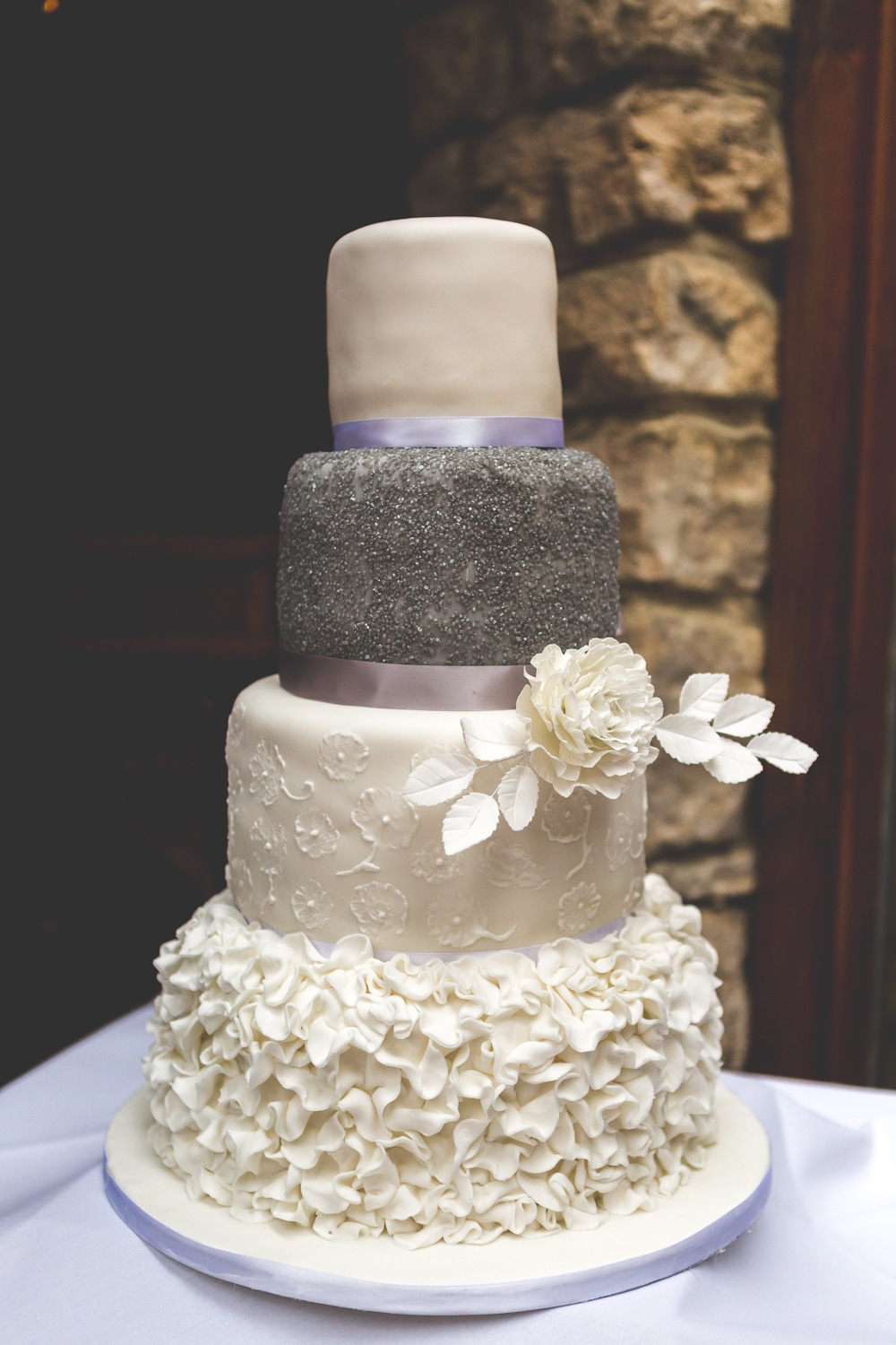 Wedding cake - Wedding photography by Yorkshire photographer, Mat Robinson