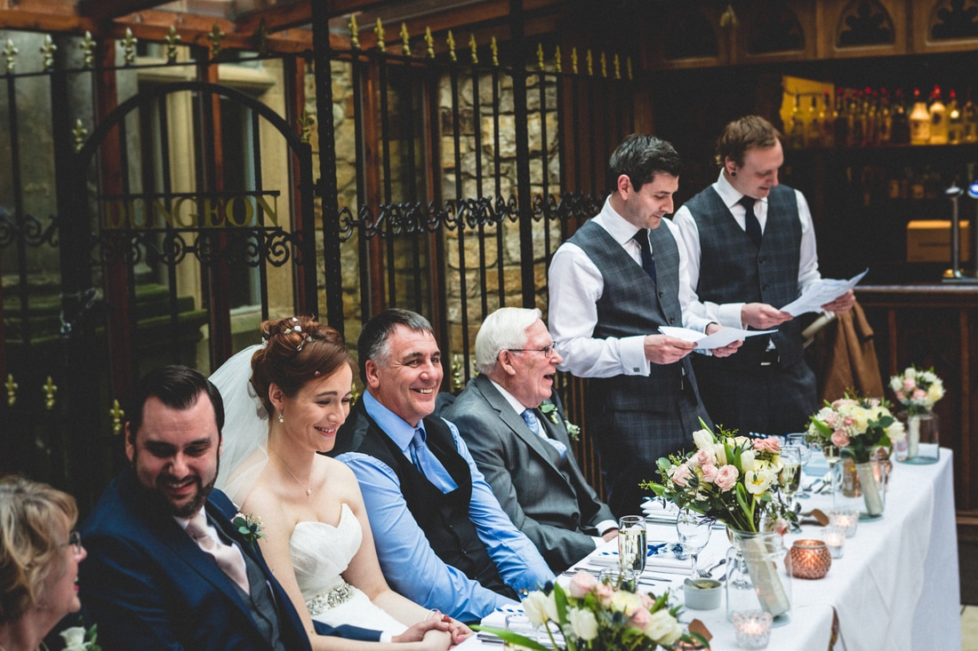 Best man's speech- Wedding photography by Yorkshire photographer, Mat Robinson