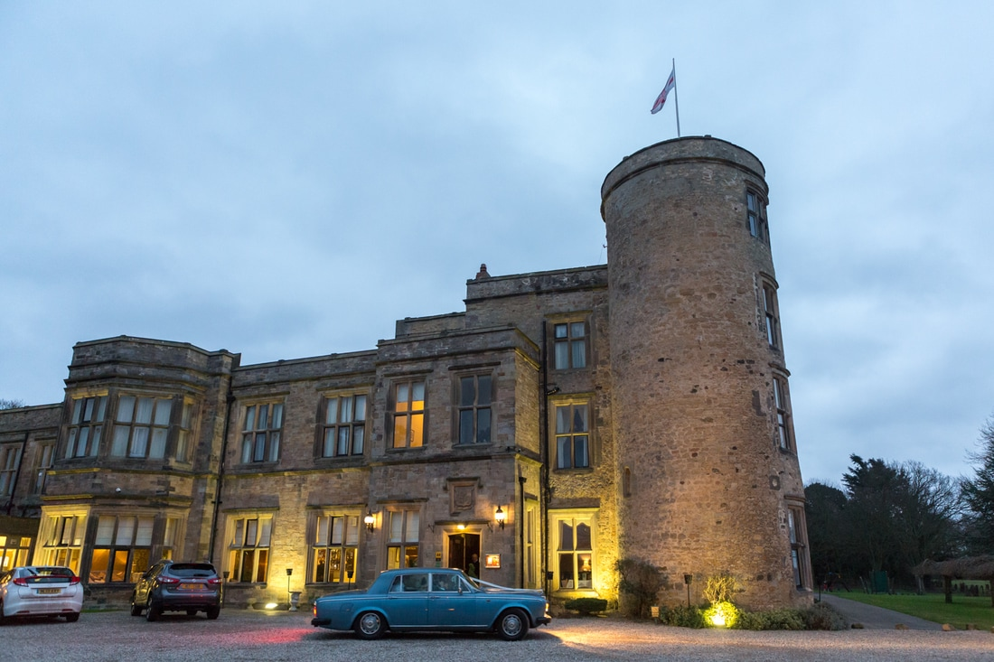 Walworth Castle - Wedding photography by Yorkshire photographer, Mat Robinson