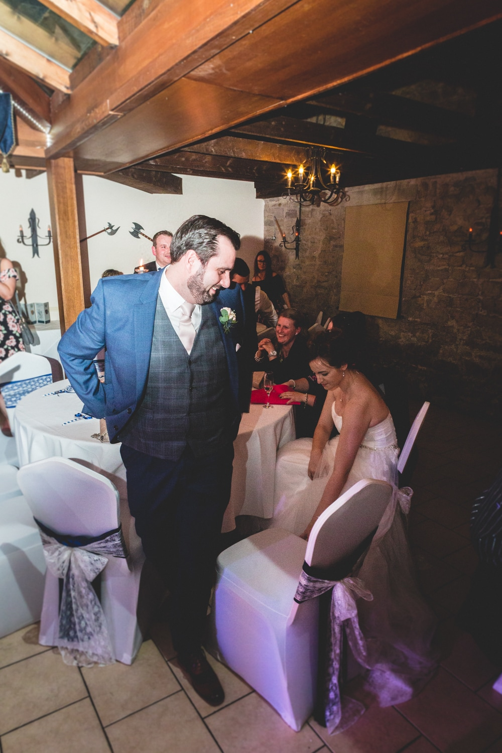 Time for the first dance - Wedding photography by Yorkshire photographer, Mat Robinson